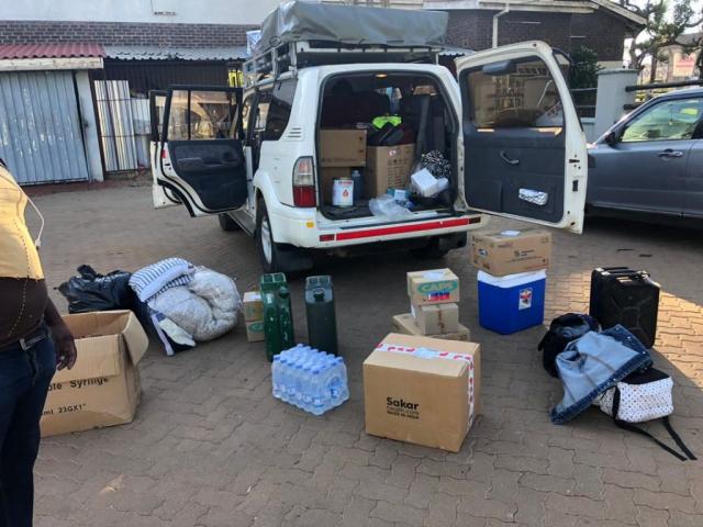 Packing For Binga Siabuwa Clinic